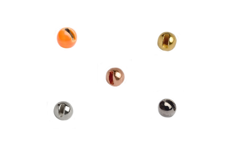Knapek Tungsten Beads Slotted
