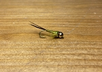 TFF Baetis Nymph BH Copper Olive